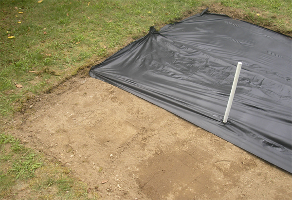 How to build horseshoe pits for How to make a horseshoe