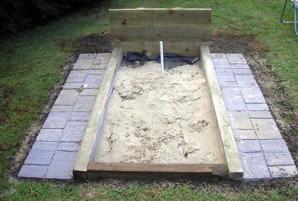 How to Build Horseshoe Pits