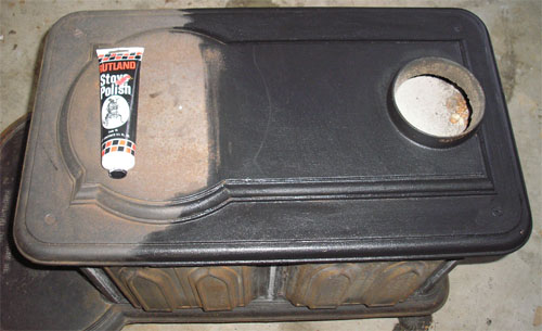 How To Restore A Wood Stove - Continued - Wood Stove Polish WB Designs